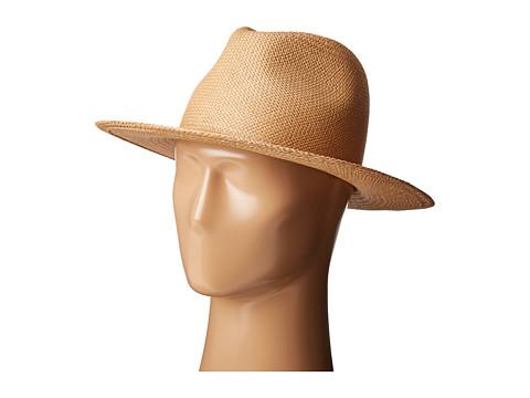 Hat Attack Panama Continental - Pecan No Trim