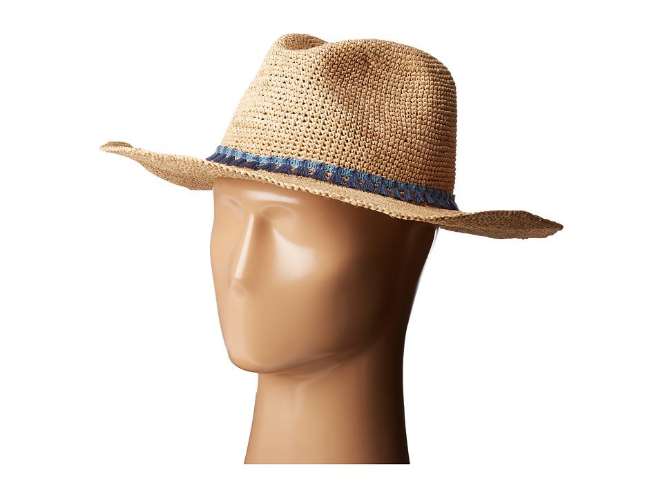 Hat Attack - Raffia Crochet Continental