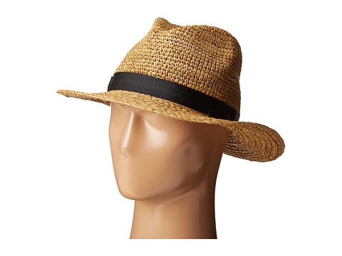Hat Attack Crochet/Braid Rancher - Toast/Black