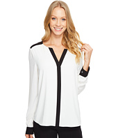 Calvin Klein - Long Sleeve V-Neck Top