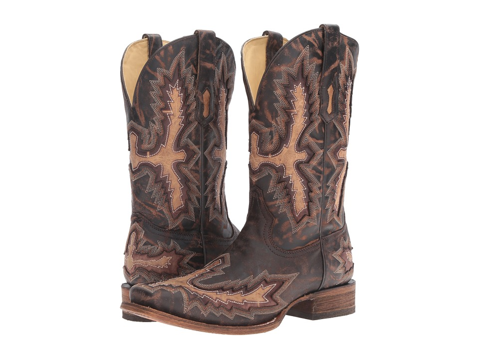 Corral Boots - A3100 (Chocolate/Tan) Mens Boots