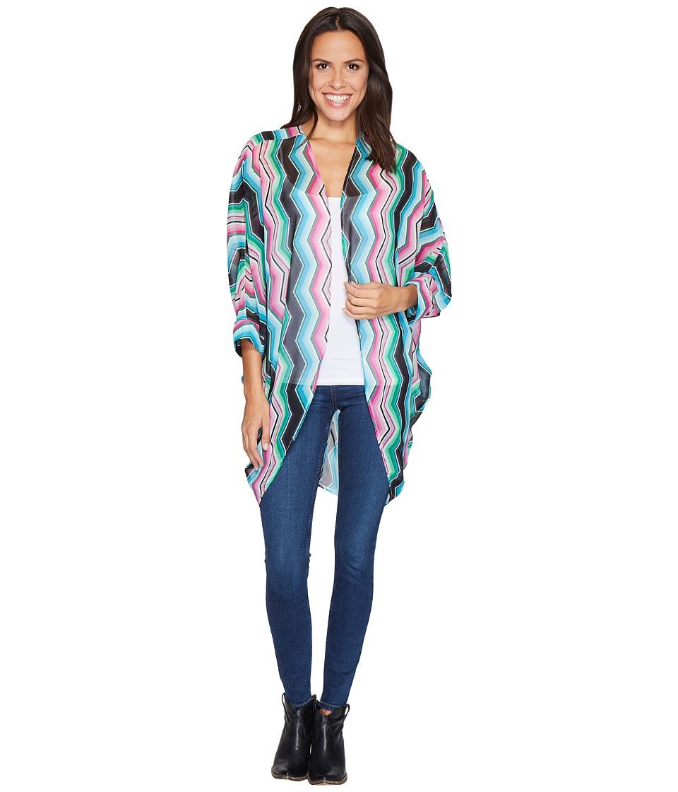 Rock and Roll Cowgirl - 3/4 Sleeve Kimono B4-2525