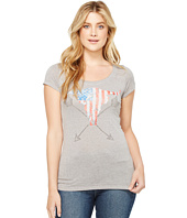 Rock and Roll Cowgirl - Cap Sleeve Tee 49T2105