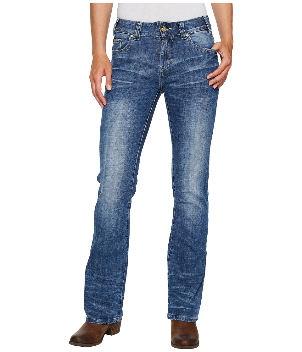 Rock and Roll Cowgirl Mid-Rise Bootcut in Medium Vintage W1-2350 (Medium Vintage) Women