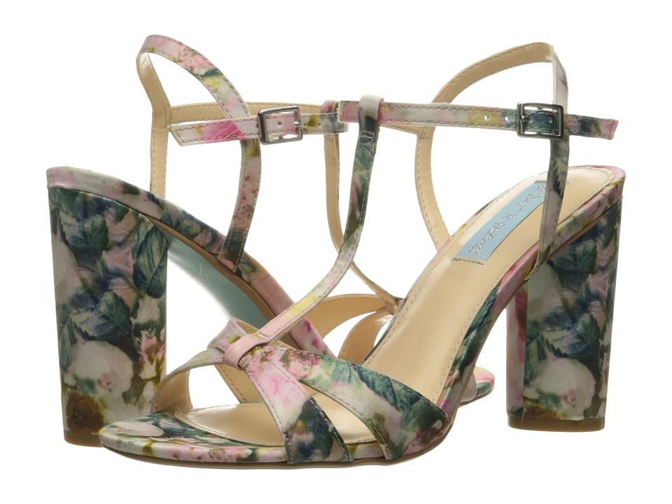 Blue by Betsey Johnson Luisa (Floral) High Heels