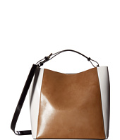 Frances Valentine - June Medium Leather Color Blocked Hobo