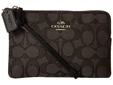 COACH Box Program Signature Small Wristlet