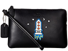 COACH - Box Program Embossed Small Wristlet