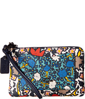 COACH - Mixed Yanke Floral Small Wristlet