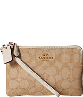 COACH - Box Program Signature Small Wristlet