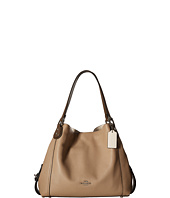 COACH - Color Block Mixed Material Edie 31