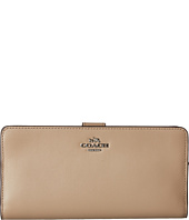 COACH - Madison Leather Skinny Wallet