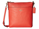 Crossgrain Leather Courier Crossbody