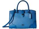 COACH - Mixed Leather Mercer 30 Satchel