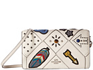 COACH - Embellished Canyon Quilt Fold-Over Crossbody