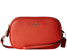 COACH - Pebbled Leather Crossbody Clutch