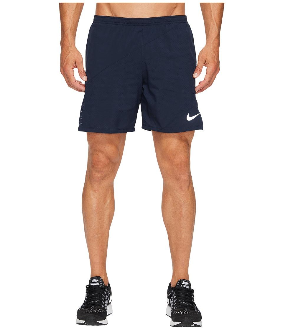 Nike Flex 7 Running Short (Obsidian/Obsidian) Men