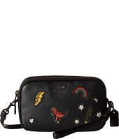 COACH - Souvenir Embroidery Crossbody Clutch