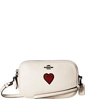 COACH - Souvenir Embroidery Detail Crossbody Clutch
