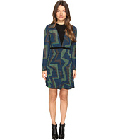 M Missoni - Geo Knit Long Sleeve Dress