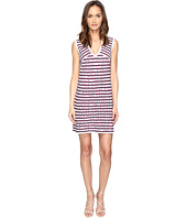 M Missoni - Broken Zigzag V-Neck Dress