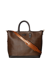 COACH - Mercer Woven Leather Craftsmans Tote