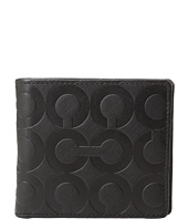 COACH - Op Art Embossed Coin Wallet