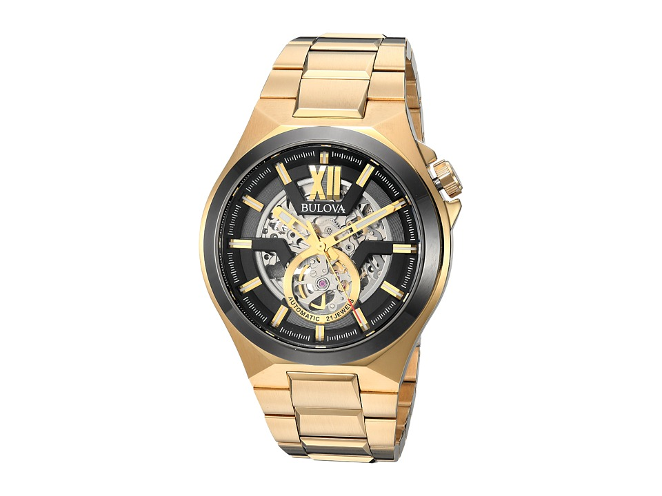BULOVA Automatic - 98A178 (Gold) Watches