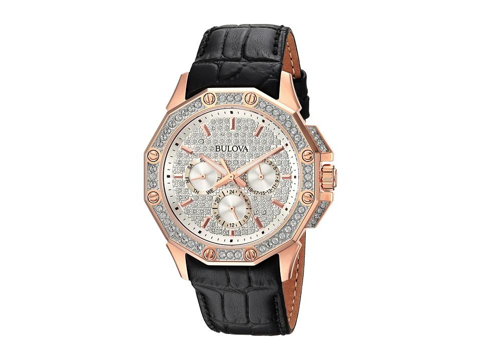 BULOVA Crystal - 98C125 (Gold/Black) Watches
