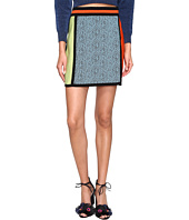 M Missoni - Color Block Intarsia Skirt