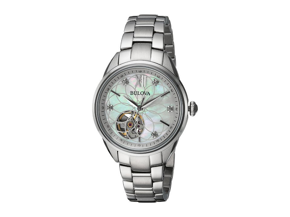 Bulova - Automatic - 96P181 (Sliver) Watches