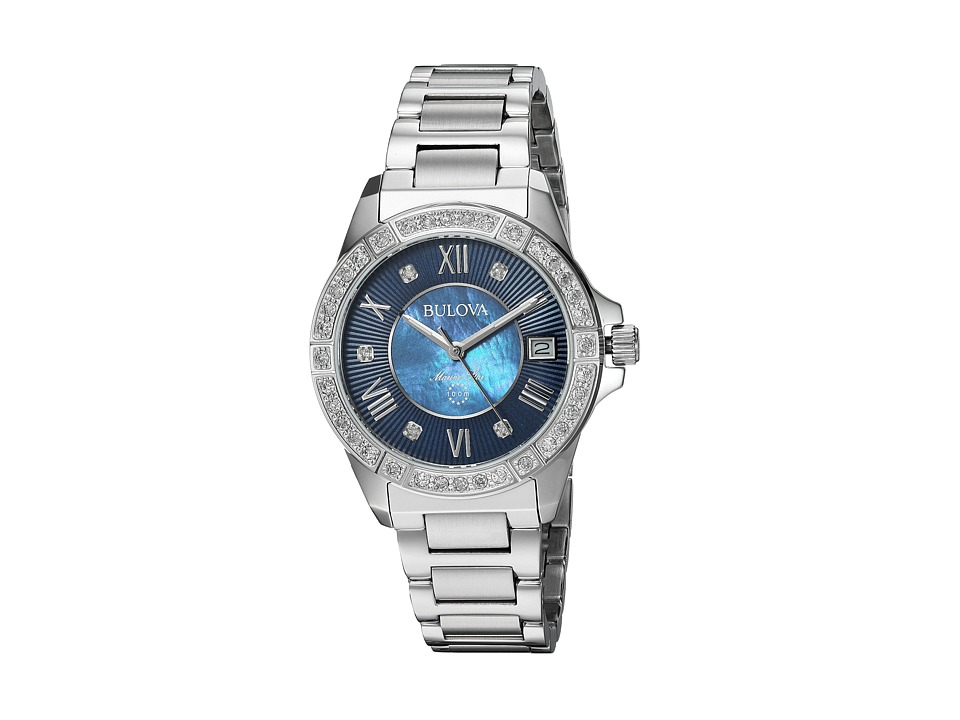 BULOVA Marine Star Diamonds - 96R215 (Sliver) Watches
