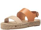 Bi-Color Platform Sandal