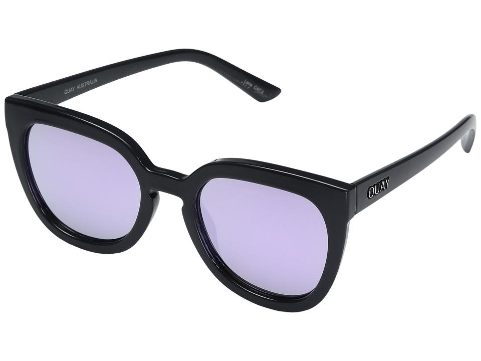 QUAY AUSTRALIA Noosa (Grey/Purple) Fashion Sunglasses