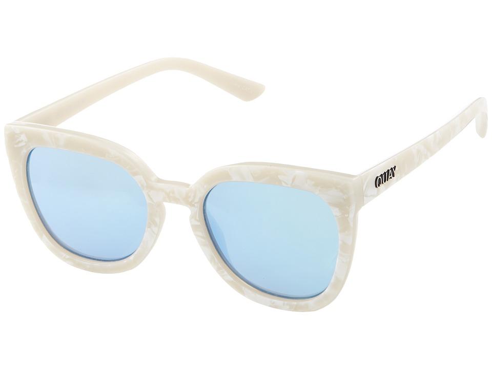 QUAY AUSTRALIA Noosa (Pearl/Blue) Fashion Sunglasses