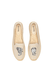 Soludos - Elephant Embroidered Smoking Slipper