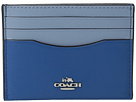 COACH - Box Program Color Block Flat Card Case