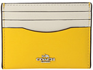 Box Program Color Block Flat Card Case