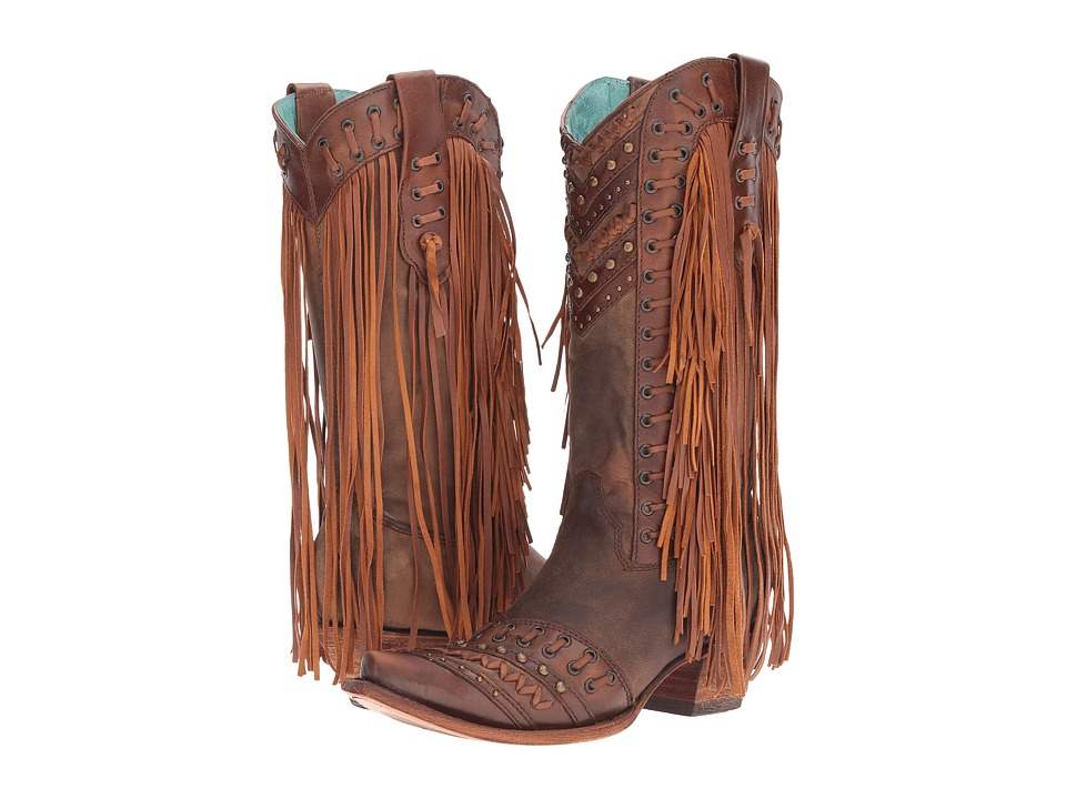 Corral Boots - C2986 (Brown/Tan) Womens Boots