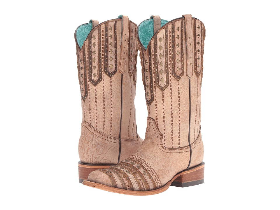 Corral Boots C2991 (Tan/Brown) Women