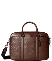 COACH - Perry Slim Brief In Signature Crossgrain