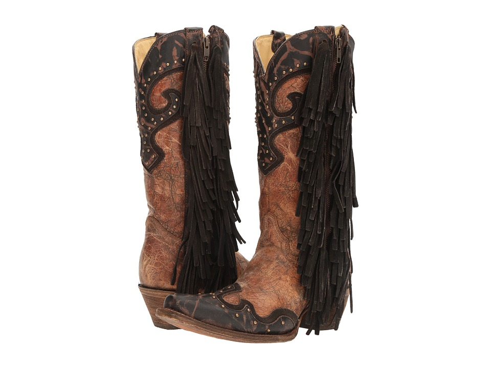 Corral Boots - A3149 (Brown/Chocolate) Womens Boots