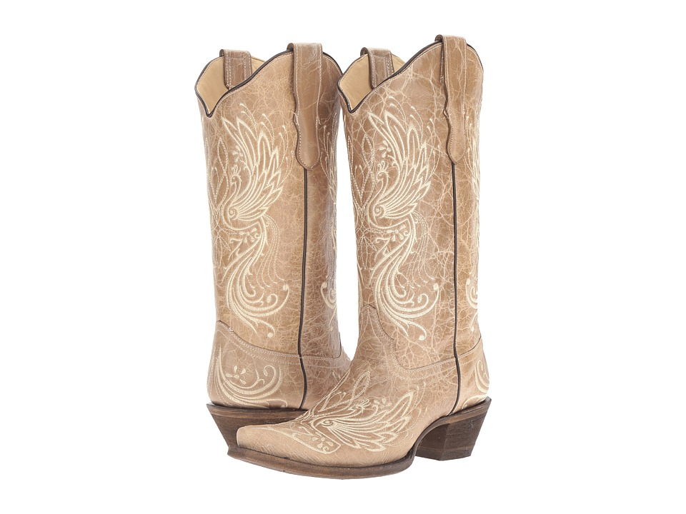 Corral Boots - E1035 (Bone) Womens Boots