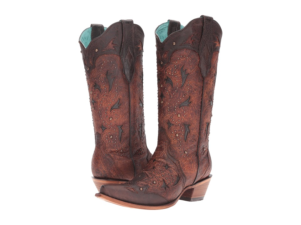 Corral Boots - C3044 (Brown) Women's Boots