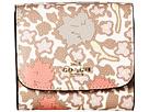 COACH - Yanke Floral Print Small Wallet