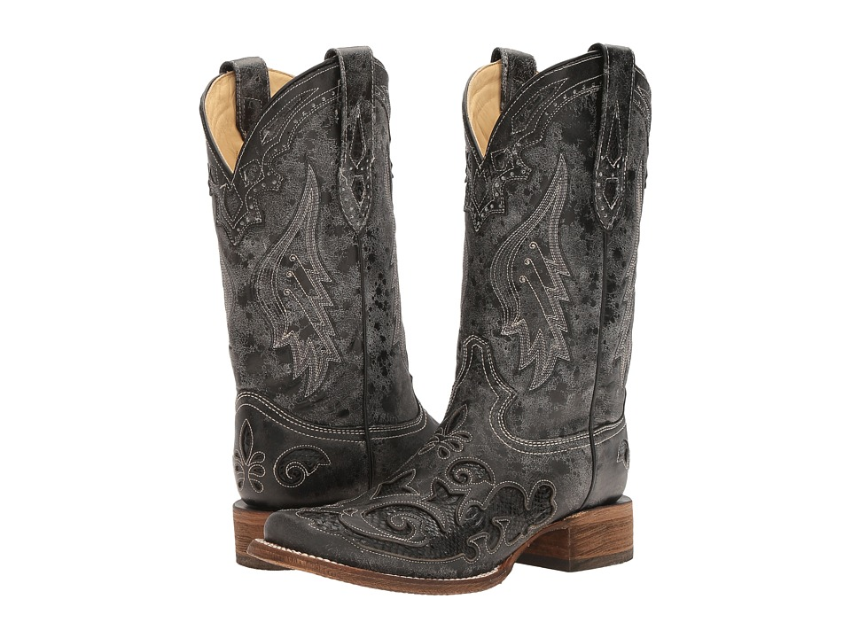 Corral Boots - A2402 (Black) Womens Boots