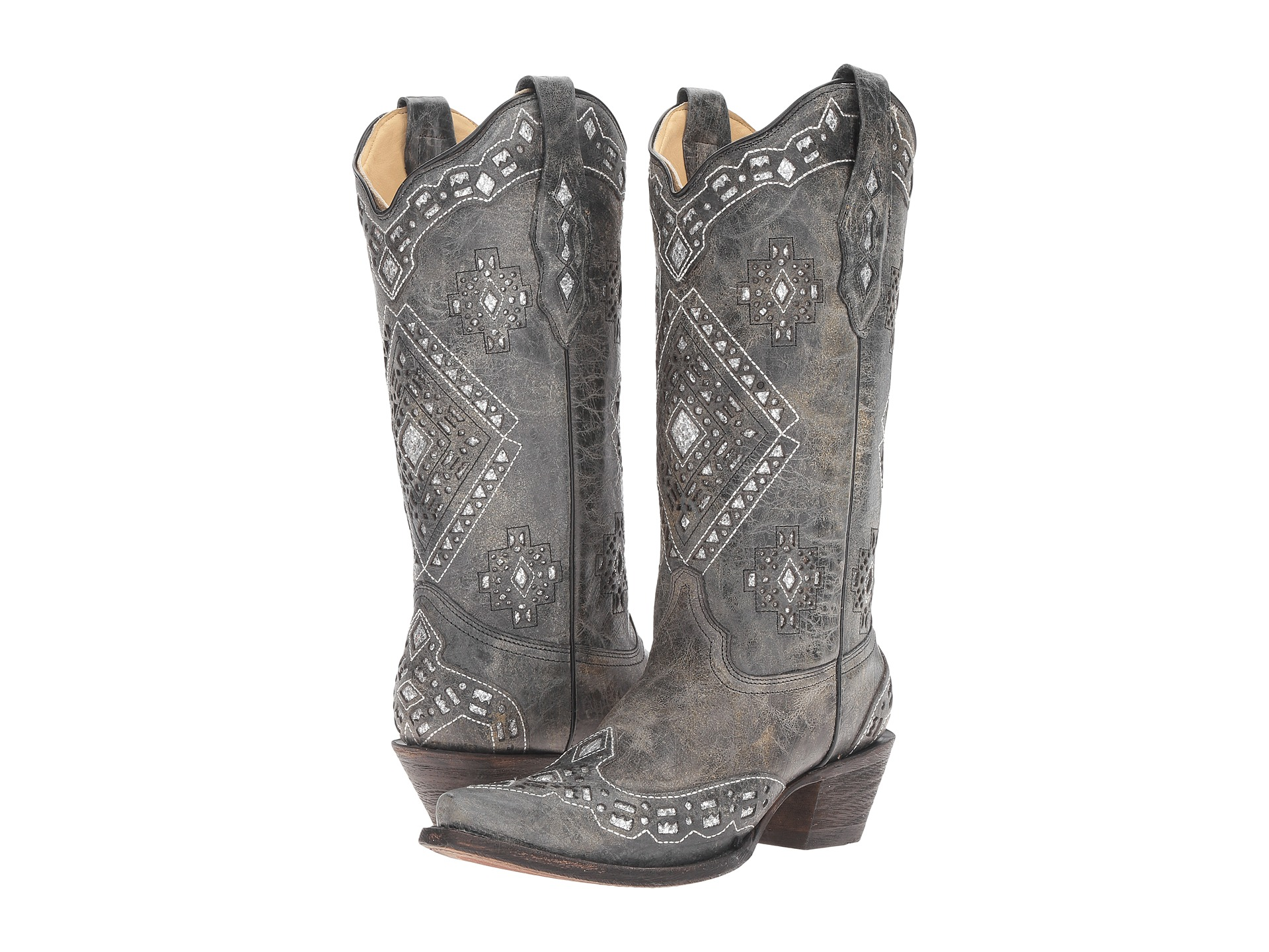 Boots, Cowboy Boots, Black, Women | Shipped Free at Zappos