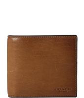 COACH - Sport Calf Double Billfold