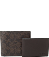 COACH - Signature C Compact ID Wallet