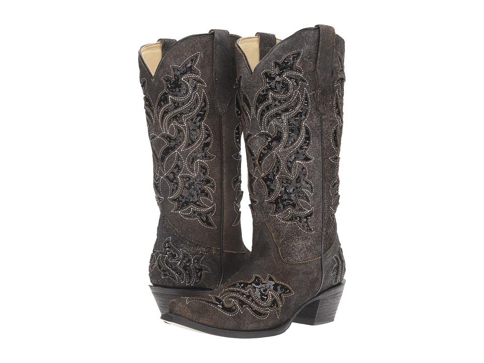 Corral Boots R1152 (Black/Black) Women